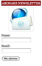 Abonare newsletter