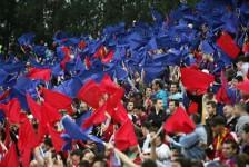 Reacţia suporterilor Steaua faţă de protestele violente din Bucureşti