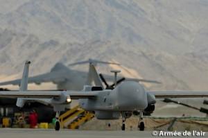 Drona Harfang in Afganistan (defense.gouv.fr)