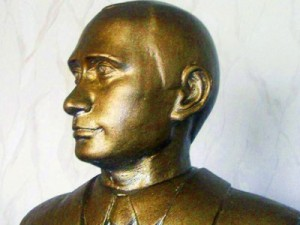 Putin bust de aur