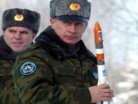 Vladimir Putin racheta