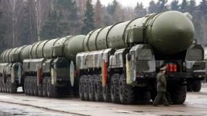 Rusia - rachete nucleare intercontinentale Topol