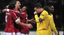 Arsenal Londra - AC Milan 6 martie 2012