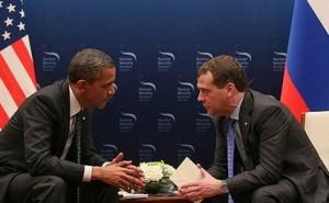 Barack Obama şi Dmitri Medvedev