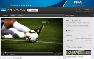 Canalul FIFA pe YouTube