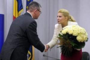 MR Ungureanu si Elena Udrea