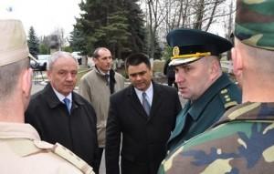Nicolae Timofti - Armata Nationala