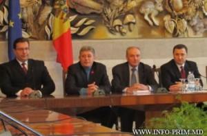 Nicolae Timofti si liderii AIE