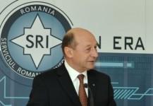 Traian Basescu la SRI
