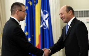 Ungureanu si Basescu