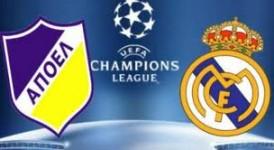 Apoel Nicosia vs Real Madrid