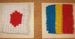 cocori steaguri Japonia Romania