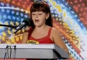 Alexia Urtoi de la Romanii au talent la Hollywood