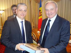 Cristian Petrescu si Nicolae Timofti