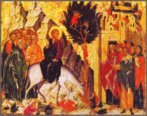 Duminica Floriilor - Intrarea Mantuitorului in Ierusalim
