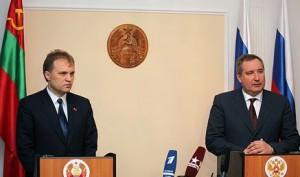 Evgheni Sevciuk si Dmitri Rogozin
