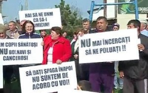 Gaze de sist - protest Costinesti