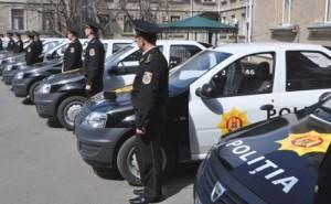Politie Republica Moldova Dacia Logan