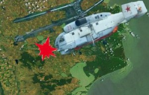 Un elicopter KA-27 s-a prabusit la Ostrov judetul Tulcea cel putin 5 morti