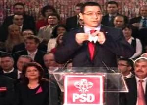 Victor Ponta a rupt scrisoarea lui Basescu