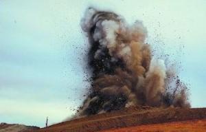 explozie Transfagarasan