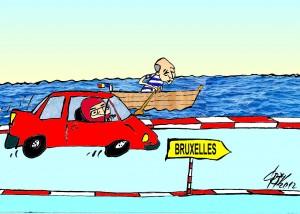 CINE AJUNGE PRIMUL LA BRUXELLES