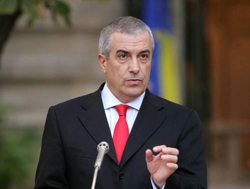 Călin Popescu Tăriceanu, candidat USD la şefia Senatului