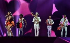 Eurovision 2012 Mandinga - TVR bate obrazul vecinilor din Bulagaria Ungaria si Ucraina