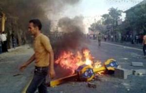 Eurovision - proteste violente si arestari la Baku in Azerbaidjan