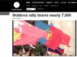 Gafă la Euronews: Basarabia, împărţită de România, Moldova şi Ucraina