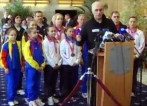 Gimnastica - Fetele de aur s-au intors in Romania