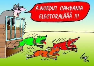START IN CAMPANIA ELECTORALA