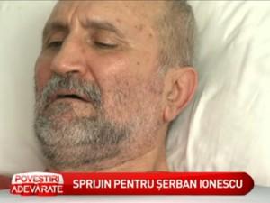 Sprijin pentru Serban Ionescu