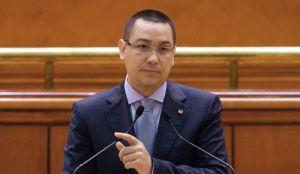 Ponta, la Parlament: Interesul naţional al României nu poate fi negociat
