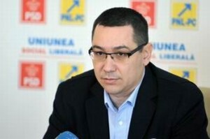 Victor Ponta - USL (Agerpres)