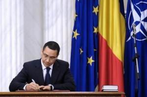 Victor Ponta a demis prefectii