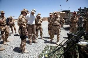 Victor Ponta in Afganistan