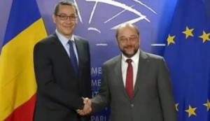 Victor Ponta si Martin Schultz