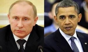 Vladimir Putin si Barack Obama