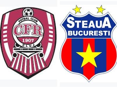 FC Steaua Bucarest - CFR Cluj Imagen de archivo editorial ... |Steaua Cfr