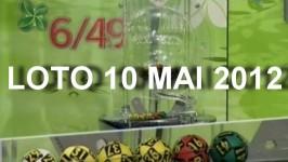 loto 6/49 din 10 mai 2012