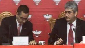 Victor Ponta si Gabriel Oprea