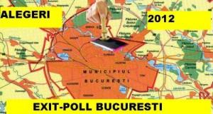 Alegeri 2012 - Exit-poll Bucuresti