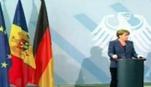 Angela Merkel merge la Chisinau