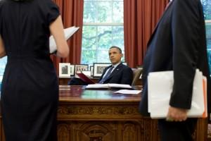 Barack Obama primeste informatii