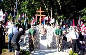 Ungaria: Bust al lui Miklos Horthy, la Csokako