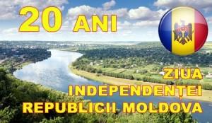 Moldova: Independenţă - 20 de ani