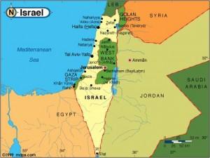Cum vrea Israelul să-şi extindă teritoriul