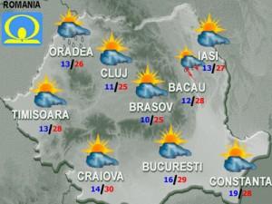 Meteo - Cum va fi vremea vineri