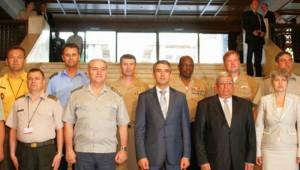 Seful SMG general-locotenent Stefan Danila participa la Sofia la a sasea Conferinta a sefilor statelor majore generale din Balcani
